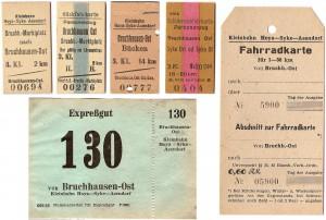Bruchh.Ost Fahrkarten