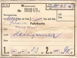 Hoya West - Heiligenfelde
